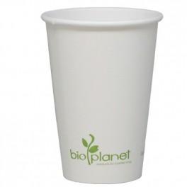 16 oz Paper/PLA Hot Cup (white)