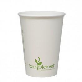 8 oz Paper/PLA Hot Cup (white)